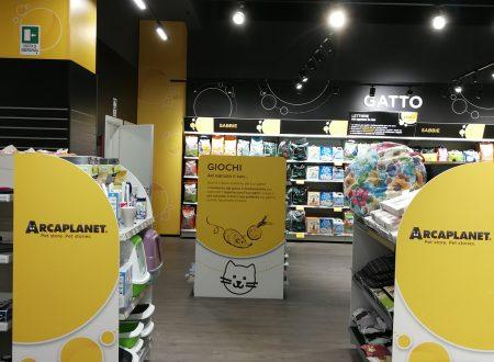 Arcaplanet guarda oltre frontiera e inaugura il primo store in Svizzera